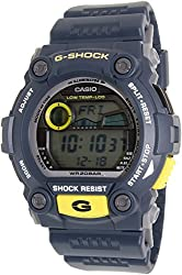 Casio Men's G-7900-2DR G-Shock Blue Resin Digital Dial Watch