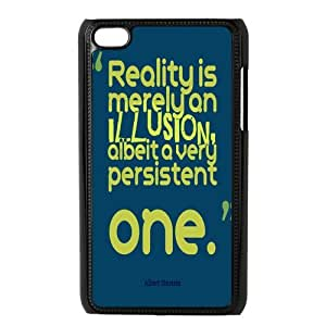 Stylish Witticism Design Hard Plastic Case for IPod Touch 4 case