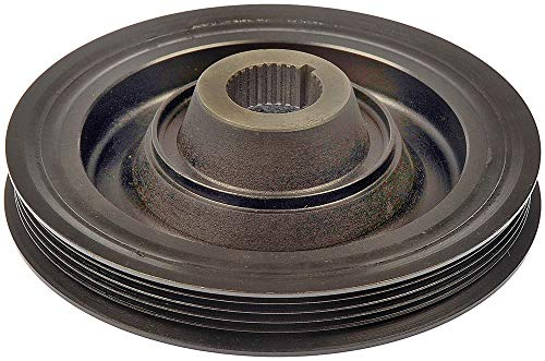 APDTY 605179 Harmonic Balancer Crank Pulley Dampener Assembly Fits 90-93 Honda Accord (2.2L SOHC Engine Only) & 92-96 Honda Prelude (2.2L SOHC & 2.3L Engines) (Replaces 13810-PT1-003, 90704-PT0-000)