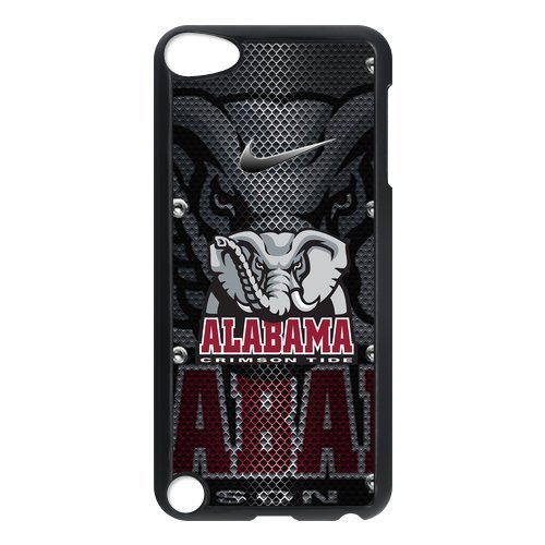 FEEL.Q- NCAA Alabama Crimson Tide Protective Hard PC Plastic Case Cover for iPod Touch 5, 5th Generation (Ipod Feel)