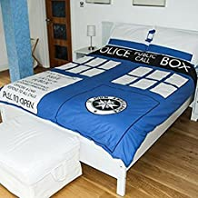 Dr Who Time Lord Tardis Double Duvet Set