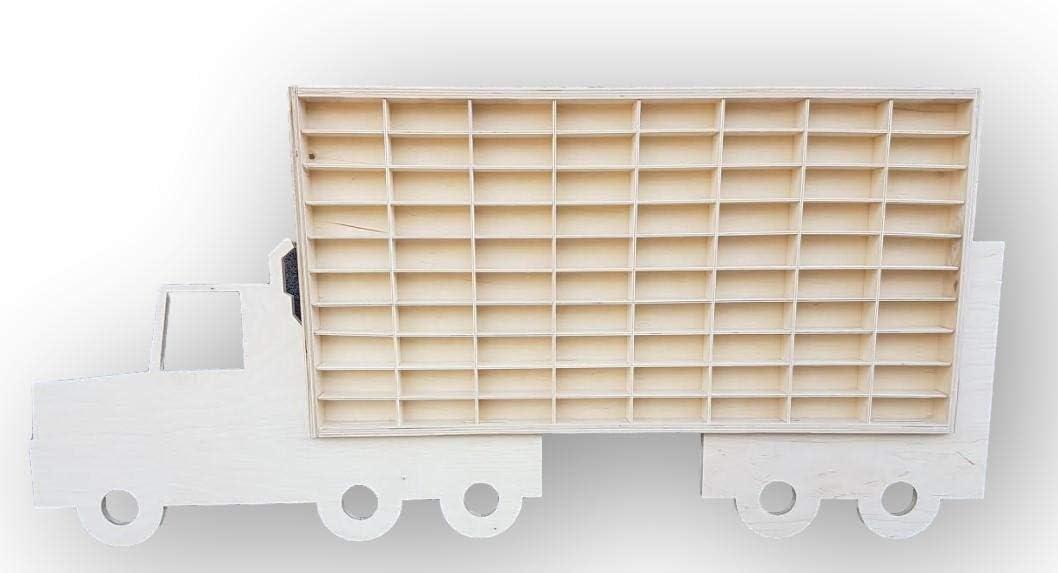 Dekoralove Hot Wheels - Caja de almacenamiento para 80 coches: Amazon.es: Bricolaje y herramientas