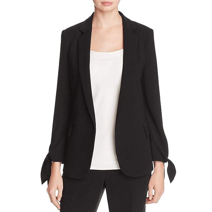 7fe7ad46ea52 Lafayette 148 New York Womens Bria Crepe Tailored Jacket: Amazon.ca:  Clothing & Accessories