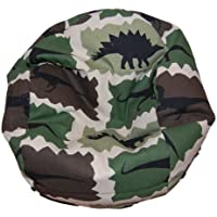Ahh! Products Dinosaurs Camouflage Bean Bag Chair for Dolls