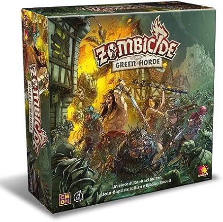 Asmodee - ZOMBICIDE: Green Horde - Italiano: Amazon.es: Juguetes y juegos