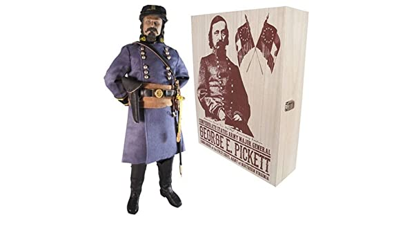 Général George Pickett-CS Over Coat 1//6 Scale-MOHR Toys Action Figures