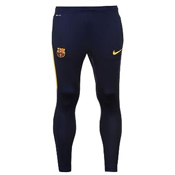 Nike FC Barcelona Stirke pista pantalones de hombre Azul/Oro ...