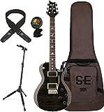 PRS TRCGB2 SE Mark Tremonti Custom Electric Guitar (Gray Black) w/ Gig Bag, Locking Stand, Tuner, and Lock-it Strap