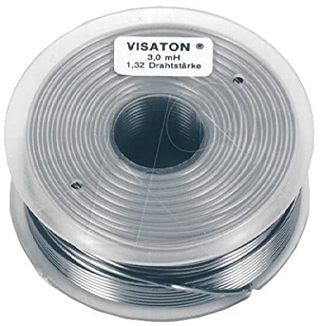 Amazon.com : Visaton SP coil 0, 68 mH/1.0mm [VS-SP0.68MH1] : Camera ...