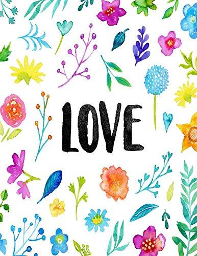 Download Love: Blank Journal Book Large PDF ePub fb2 book