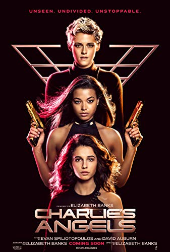 newhorizon Charlie's Angels 2019 Movie Poster 17'' x 25'' NOT A DVD