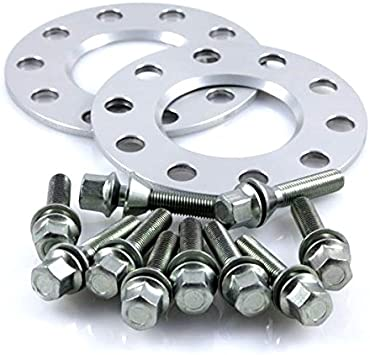 10 mm//Achse 10 mm//Achse TuningHeads//H/&R .0422282.DK.1075726.3ER-F30-3L Spurverbreiterung Radschrauben