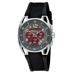 Breil TW0450 - Reloj para hombres, correa de goma