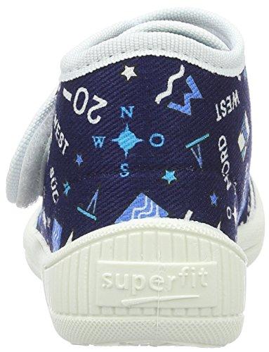 Superfit Bully - Zapatillas de casa Niños Blau (ocean Kombi)