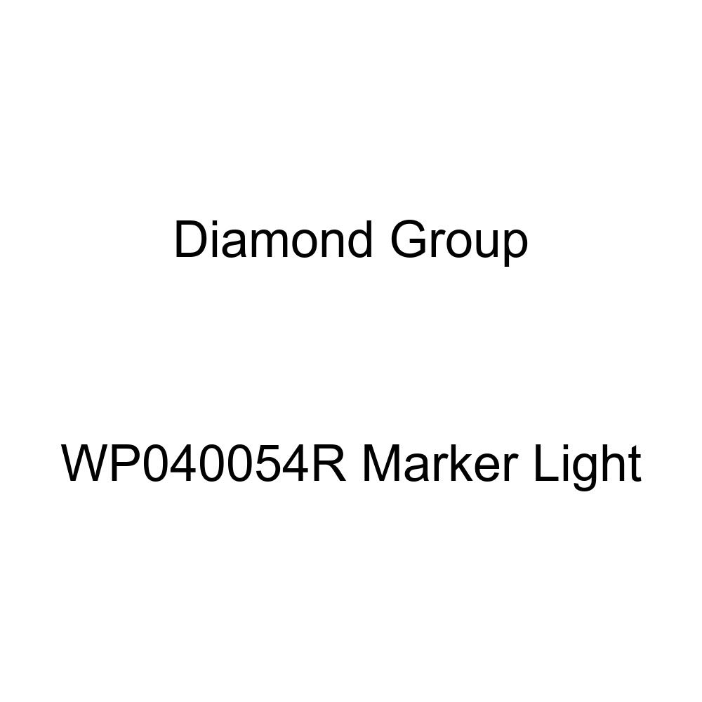 Diamond Group WP040054R Marker Light