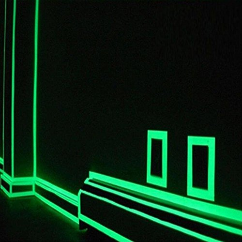 Niome Green Luminous Tape Sticker Removable, Waterproof, Photoluminescent by Niome (Image #5)