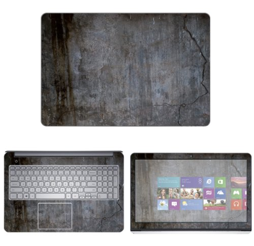 """Decalrus - Decal Skin Sticker for Dell Inspiron 15 i7537 7000 Series with 15.6"""" TOUCHScreen (NOTES: Compare your laptop to IDENTIFY image on this listing for correct model) case cover wrap DEinspiron7537-4"""
