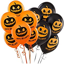Balloons For Halloween Decoration, 40 Pcs
