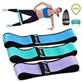 Cheap Hip Bands for Booty Resistance Workout Bands for Legs and Butt Heavy Exercise Loops Gym Bands Perfect Activate Glutes and Thighs Building Beachbody Resistance Set of 3 for Women and Men