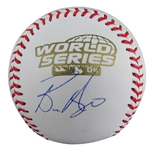 (Bronson Arroyo Red Sox Signed 2004 World Series Rawlings Baseball JSA 130598)