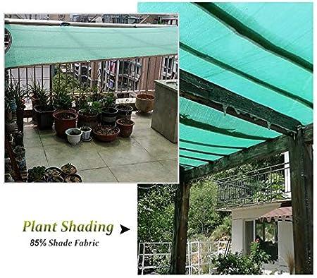 Telas para toldos Patio Paño de Sombra, Verde 85% Bloqueador Solar ...