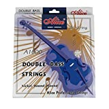 Alice Double Bass Strings Set Steel Core, G/D/A/E