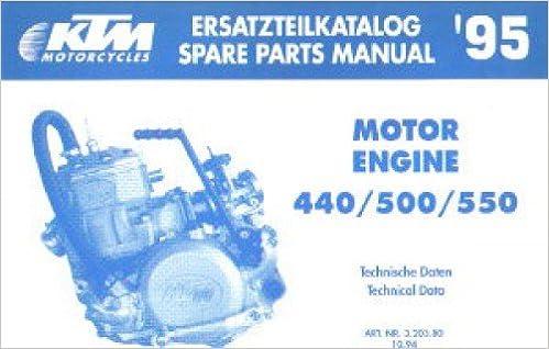 Motors Vehicle Parts & Accessories 320380 1995 KTM 440 500 550 ...
