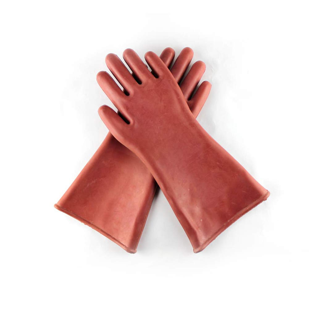 GLJY High Voltage Insulating Gloves, 12Kv Rubber Protective Gloves, Electrician Repair And Protection Supplies 1212