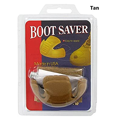 Amazon.com: Boot Saver Toe Guards Work Boots Protector - Boot Toe ...