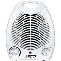 King Electric 1500 Watt Portable Heater Fan