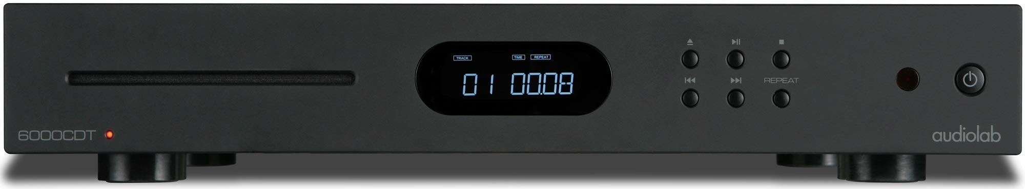 Audiolab 6000CDT Dedicated CD Transport with Remote - Black