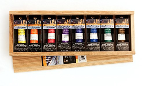 Jack Richeson 110200 15ml Quiller 8 Piece watercolor Set by Jack Richeson
