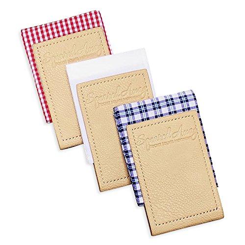 Squared Away: Pocket Square Movement - Pocket Square & Pocket Square Holder - Innovative Sleeve Design (One of Each) by Squared Away: Pocket Square Movement