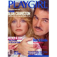 PLAYGIRL, THE MAGAZINE.   March 1983: BURT REYNOLDS on cover with Goldie Hawn.  FATHER AND SON naked, Barry Manilow profile, Brandon Court in centerfold, naked MEN OF THE MIDWEST.