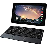 2018 Newest Premium High Performance RCA Galileo 11.5'' 2-in-1 Touchscreen Tablet PC Intel Quad-Core Processor 1GB RAM 32GB Hard Drive Webcam Wifi Bluetooth Android 6.0-Black