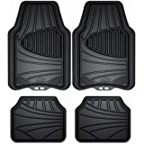 Custom Accessories Armor All 78840ZN 4-Piece Black All Season Rubber Floor Mat
