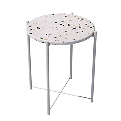 online retailer 1942c 22736 Amazon.com: Coffee Tables Living Room Terrazzo Tea Table ...