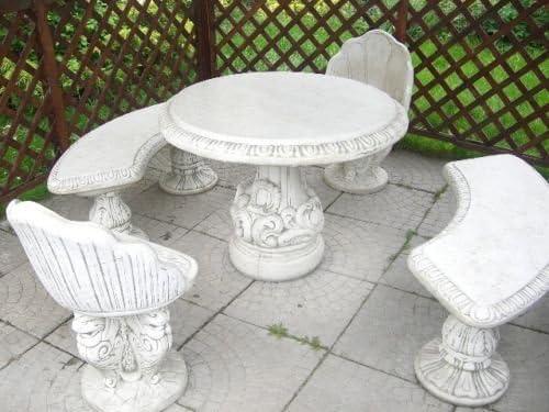 Gartentisch, Granittisch, Tisch Bodensee rund, aus