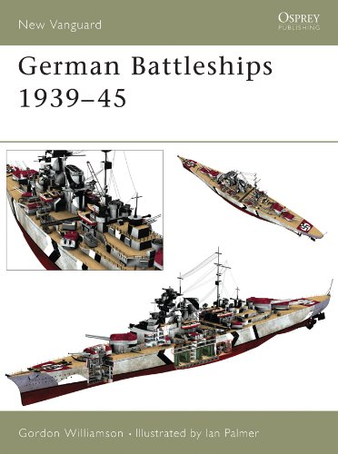 (German Battleships 1939-45 (New Vanguard Book 71))