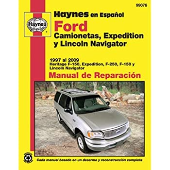 Amazon chilton repair manual ford 1997 2003 pickup 1997 2014 haynes repair manuals ford f 150 pick ups expedition lincoln navigator 97 99076 fandeluxe Gallery