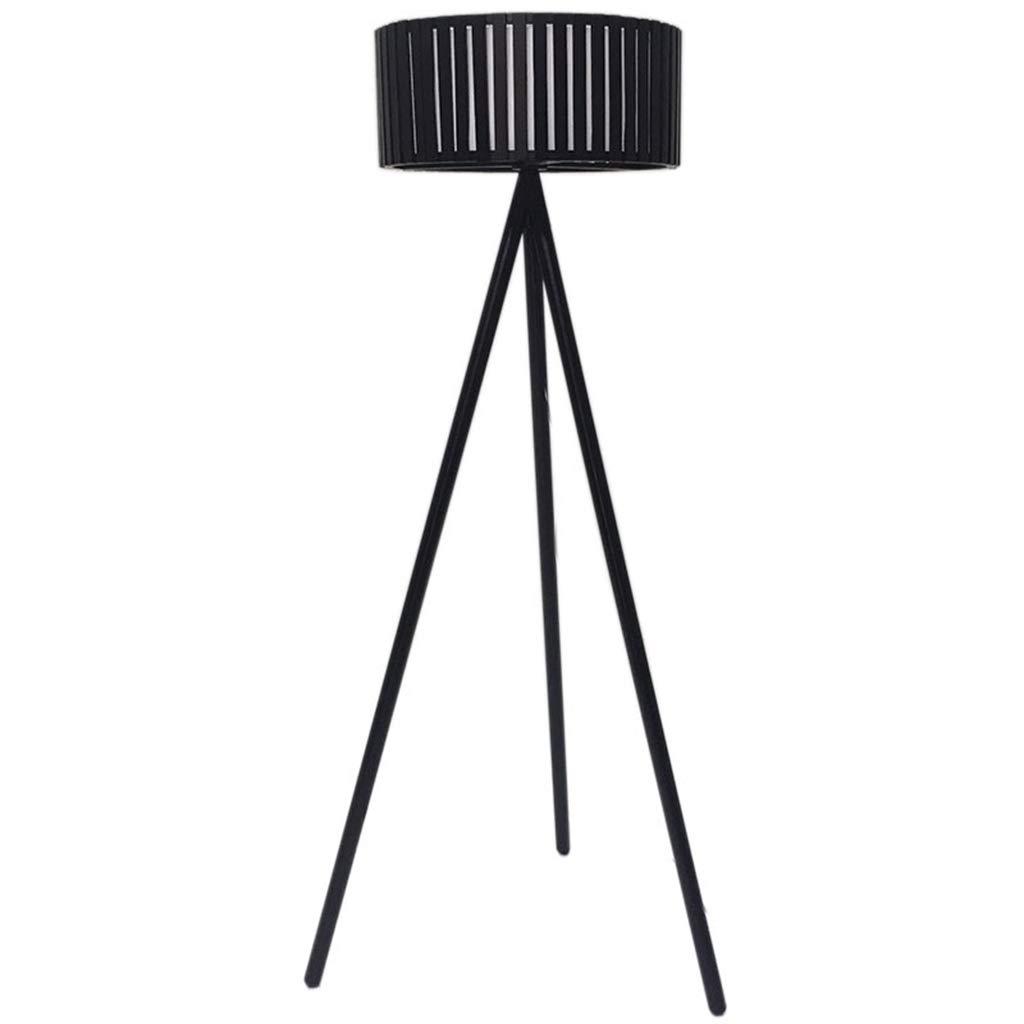 三脚フロアランプシンプルでモダンなフロアランプ用リビングルーム寝室研究北欧クリエイティブled竹アートランプシェード B07MNVM4P8