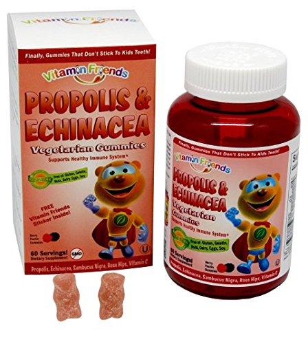 Propolis and Echinacea - Vitamin Friends, 60 Vegetarian Gummies