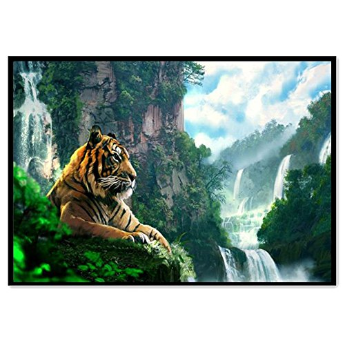 LUCA Full Drill 5D DIY Diamond Painting Rhinestone Pictures Of Crystals Embroidery Kits Arts, Crafts & Sewing Cross Stitch (F,40cm*30cm) -