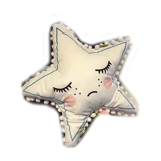 FANCYKIKI 50cm Estrella De Cinco Puntas De Dibujos Animados ...