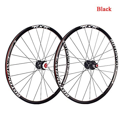 FidgetFidget 7-11 Speed QR/Thru Axle Mountain Bike Wheels 26/27.5/29'' Disc Brake MTB Wheelset 29'' Black Quick Release 1Pair Wheels by FidgetFidget (Image #7)