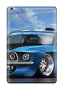 Tpu Phone Case With Fashionable Look For Ipad Mini - Muscle Car