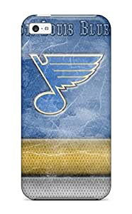 For Iphone 5c Premium Tpu Case Cover St-louis-blues Hockey Nhl Louis Blues (57) Protective Case