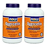 Now Foods Quercetin with Bromelain, Veg-Capsules,480 (2 Pk X 240) For Sale