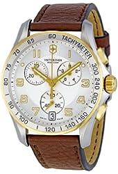 Victorinox Swiss Army Men's 241510 Silver Dial Chronograph Watch