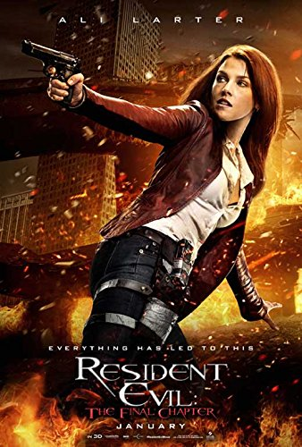 Resident Evil  The Final Chapter Movie Poster 11 X 17 Ruby Rose  Milla Jovovich  H  Made In The U S A